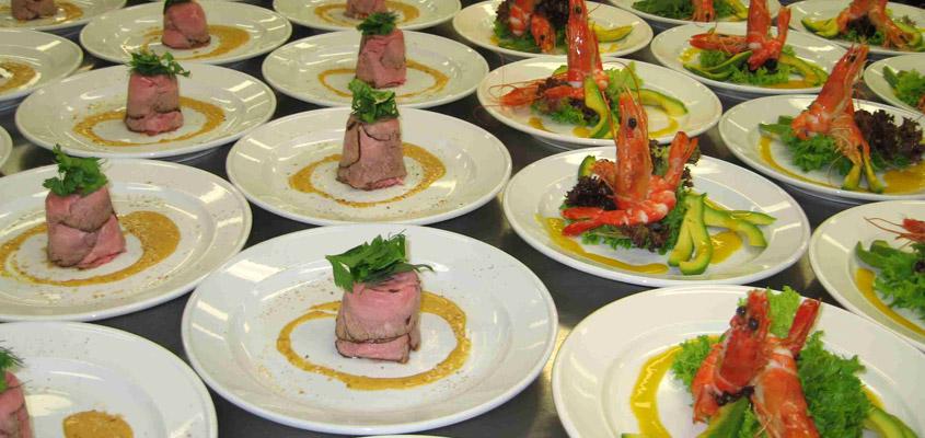 menu di carne o pesce