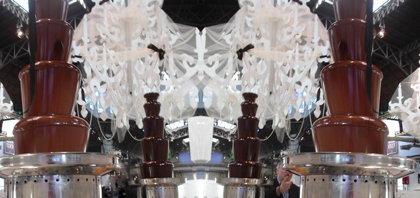 fontane di cioccolata